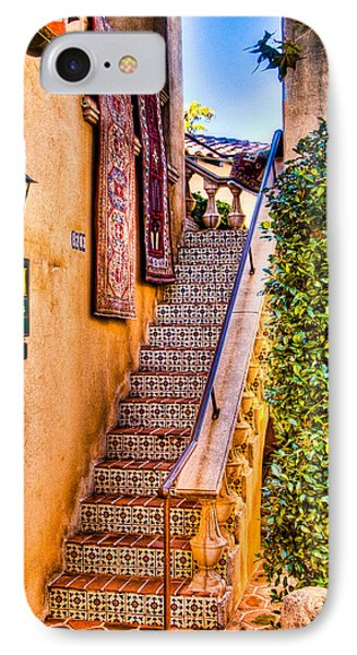 Sedona Tlaquepaque Shopping Center II IPhone Case by Jon Berghoff