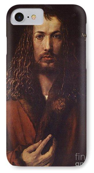 Self Portrait  Durer Phone Case by Pg Reproductions