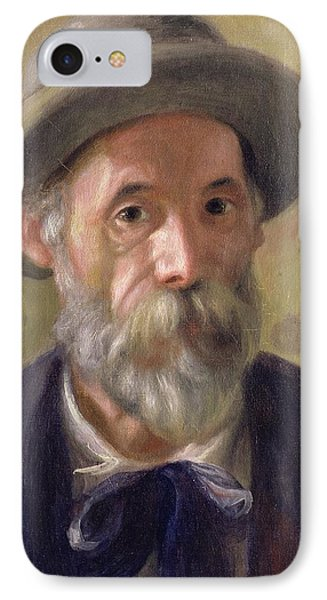 Self Portrait Phone Case by Pierre Auguste Renoir