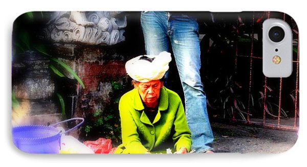 Selling Offerings On Ubud Streets IPhone Case by Funkpix Photo Hunter
