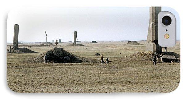 Semipalatinsk Nuclear Test Site Phone Case by Ria Novosti