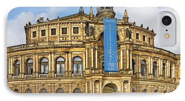 Semper Opera House Dresden Phone Case by Christine Till