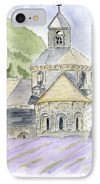 Senanque Abbey Provence IPhone Case by Eva Ason