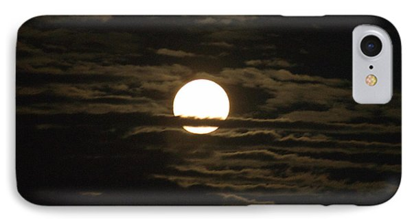 IPhone Case featuring the photograph Seneca Lake Moon by William Norton