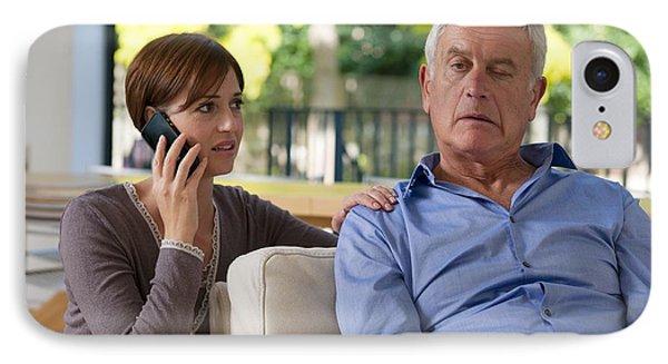 Senior Man Having A Stroke Phone Case by