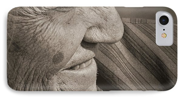 IPhone Case featuring the photograph Senior Smile by Lin Haring