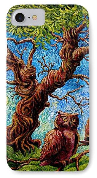 Sentient Owls IPhone Case