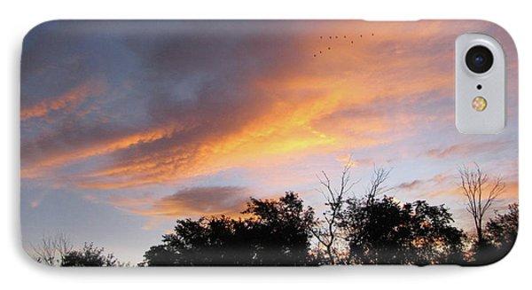 September Sunrise 1 IPhone Case by Cedric Hampton