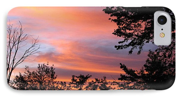 September Sunrise 3 IPhone Case by Cedric Hampton