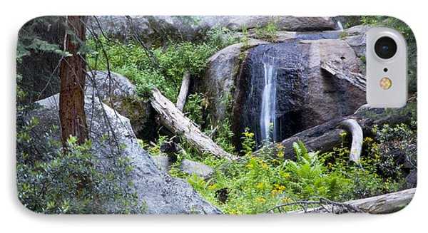 Sequoia Waterfall Phone Case by Anthony Citro