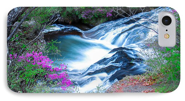 Serenity Flowing IPhone Case by Jonah  Anderson