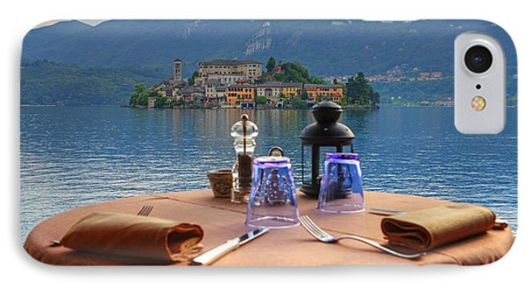 Set Table With A View Phone Case by Joana Kruse