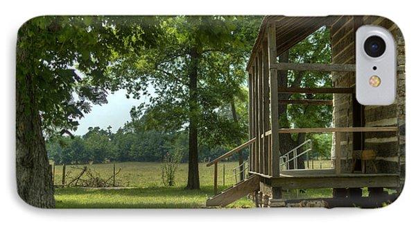 Settlers Cabin Arkansas 1 Phone Case by Douglas Barnett