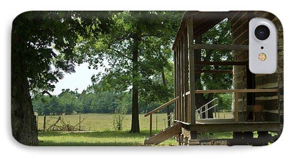 Settlers Cabin Arkansas 2 Phone Case by Douglas Barnett