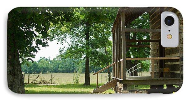 Settlers Cabin Arkansas 4 Phone Case by Douglas Barnett