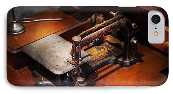 Sewing Machine - Sewing For Small Hands  Phone Case by Mike Savad