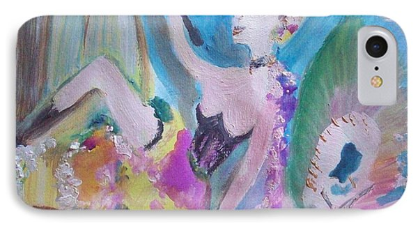 Shabby Chic The Dancer Phone Case by Judith Desrosiers