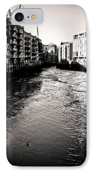 IPhone Case featuring the photograph Shad Thames Wharf by Lenny Carter