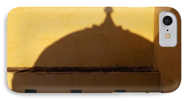 Shadow Cast On The Amber Fort Phone Case by Inti St. Clair