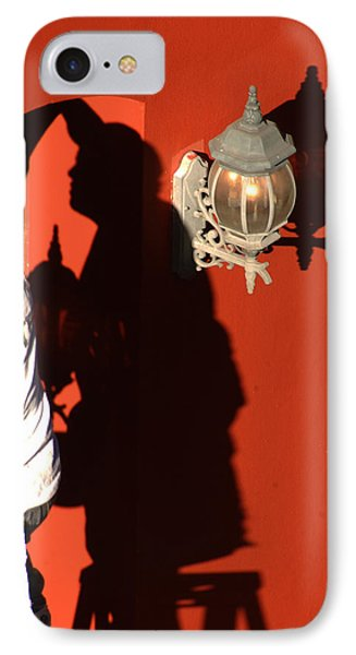Shadow Painter Phone Case by Greg and Chrystal Mimbs