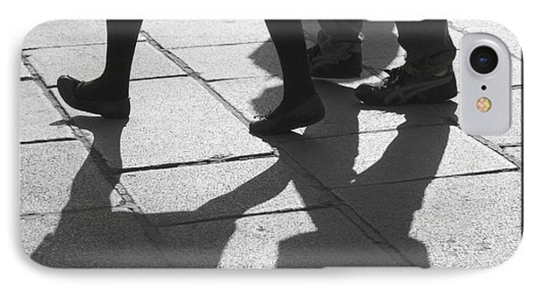 IPhone Case featuring the photograph Shadow People by Victoria Harrington