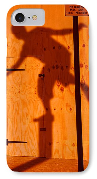 IPhone Case featuring the photograph Shadow Play  by Richard Piper