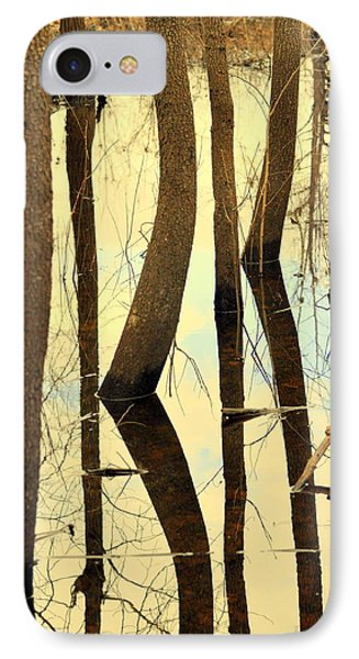 Shadow Trees Phone Case by Marty Koch