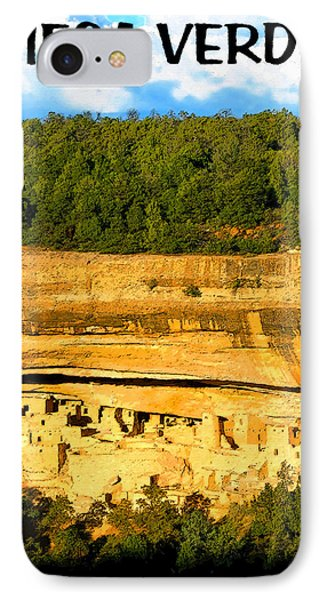 Shadows At Mesa Verde  IPhone Case by David Lee Thompson