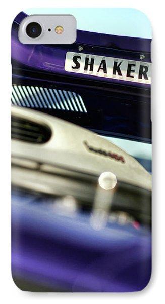 Shaker Hood IPhone Case by Gordon Dean II