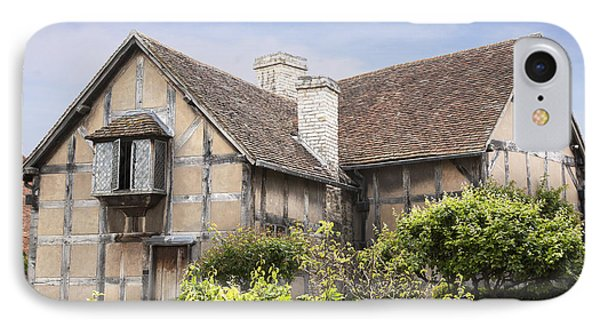 Shakespeare's Birthplace. Phone Case by Jane Rix