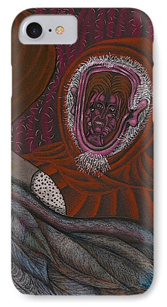 Shamsiel And The Little Father Phone Case by Al Goldfarb