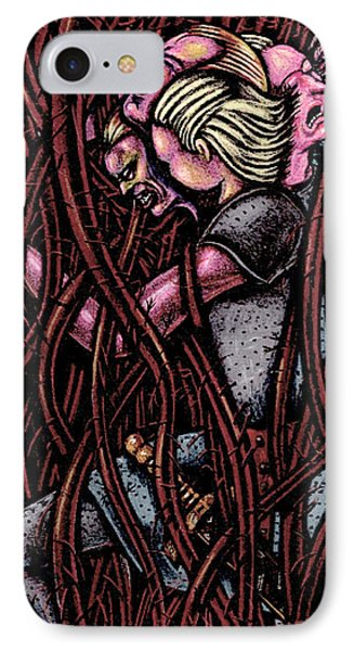 Shamsiel In The Roots Phone Case by Al Goldfarb