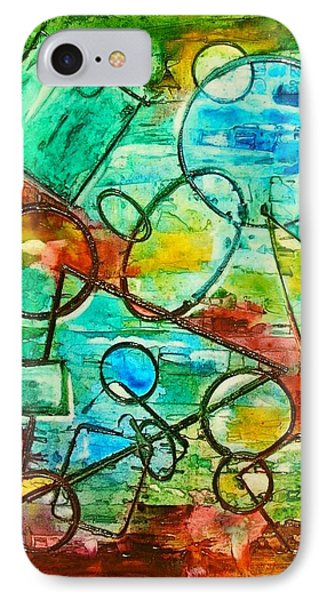 Shapes IPhone Case by Mary Kay Holladay