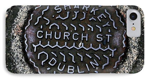 Sharkey Church Street Phone Case by John Rizzuto