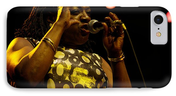 IPhone Case featuring the photograph Sharon Jones by Jeff Ross