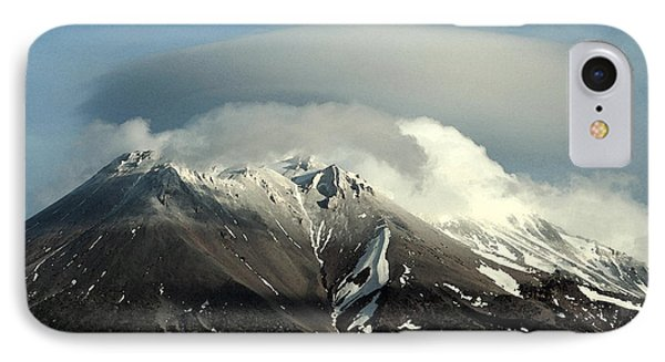 IPhone Case featuring the digital art Shasta Lenticular 2 by Holly Ethan