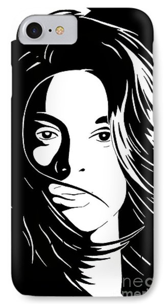 She Is Phone Case by Jack Norton