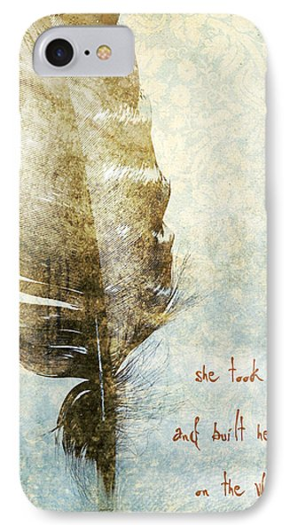 She Took A Leap IPhone Case by HD Connelly