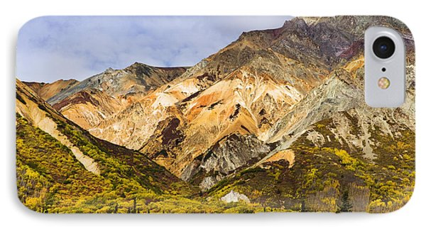 Sheep Mountain Along Glenn Highway Phone Case by Yves Marcoux