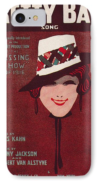 Sheet Music Cover, 1916 Phone Case by Granger