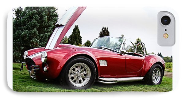 IPhone Case featuring the photograph Shelby Cobra by Nick Kloepping