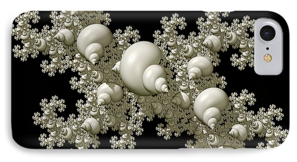 Shell Dragon Fractal Form IPhone Case