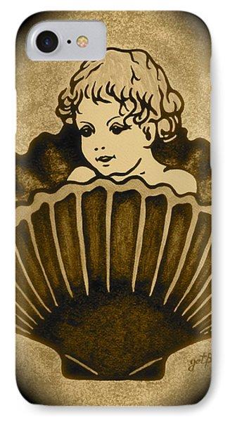 Shell With Child 2 Phone Case by Georgeta  Blanaru