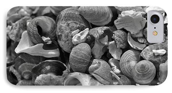 Shells V Phone Case by David Rucker