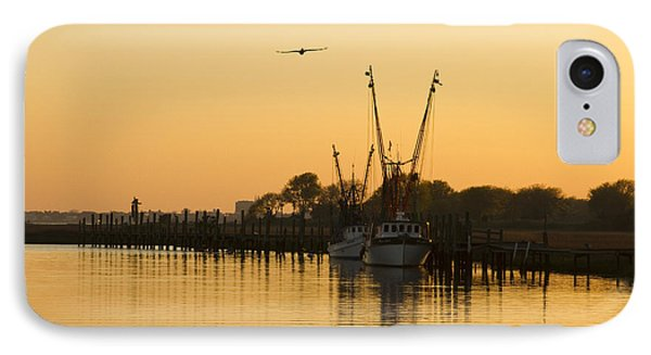 Shem Creek IPhone Case by Carrie Cranwill