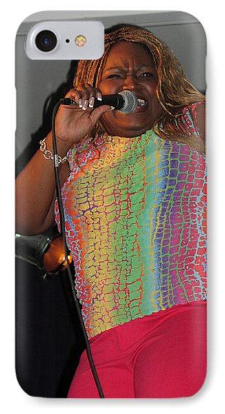 IPhone Case featuring the photograph Shemekia Copeland by Mike Martin