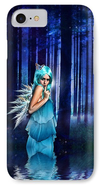 Shhhhh We Exist Phone Case by Sharon Lisa Clarke