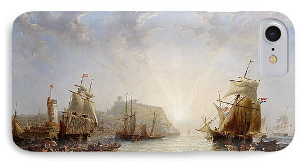 Shipping Off Scarborough Phone Case by John Wilson Carmichael