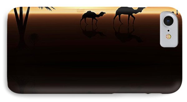 Ships Of The Desert Phone Case by David Dehner