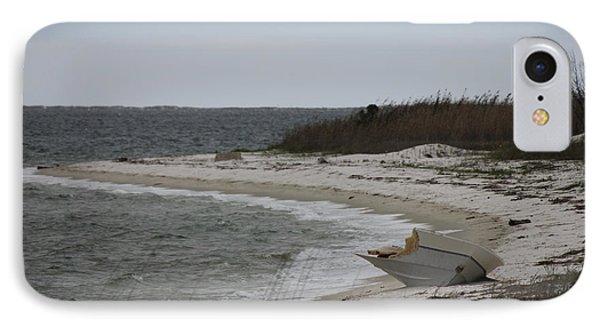 Shipwrecked IPhone Case by Deborah Hughes